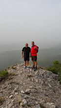 Photo: Llegando a la cima del Molejón