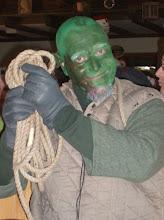 Photo: Der Büttel hat sich grün geärgert.