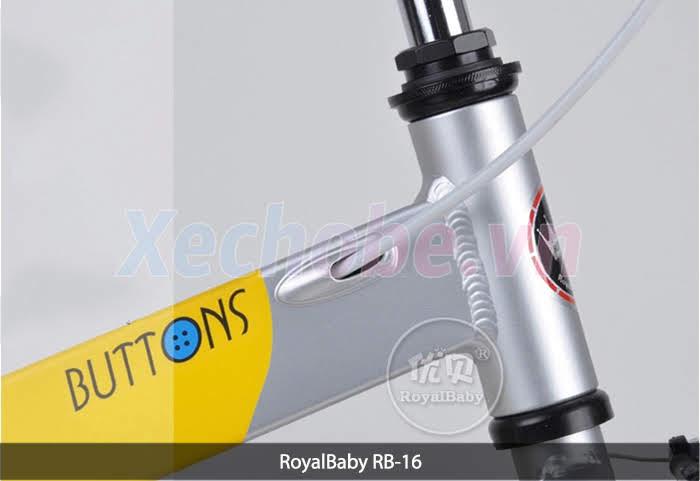 xe đạp cho trẻ em royababy rb16