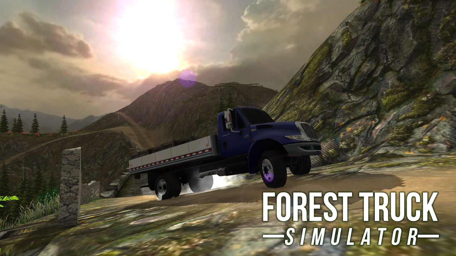 FOREST TRUCK SIMULATOR- screenshot
