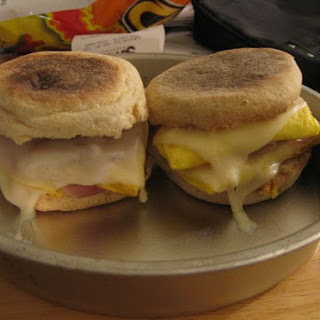 Fancy Egg McMuffins.