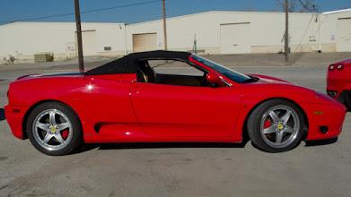 Photo: Ferrari 360 Spyder