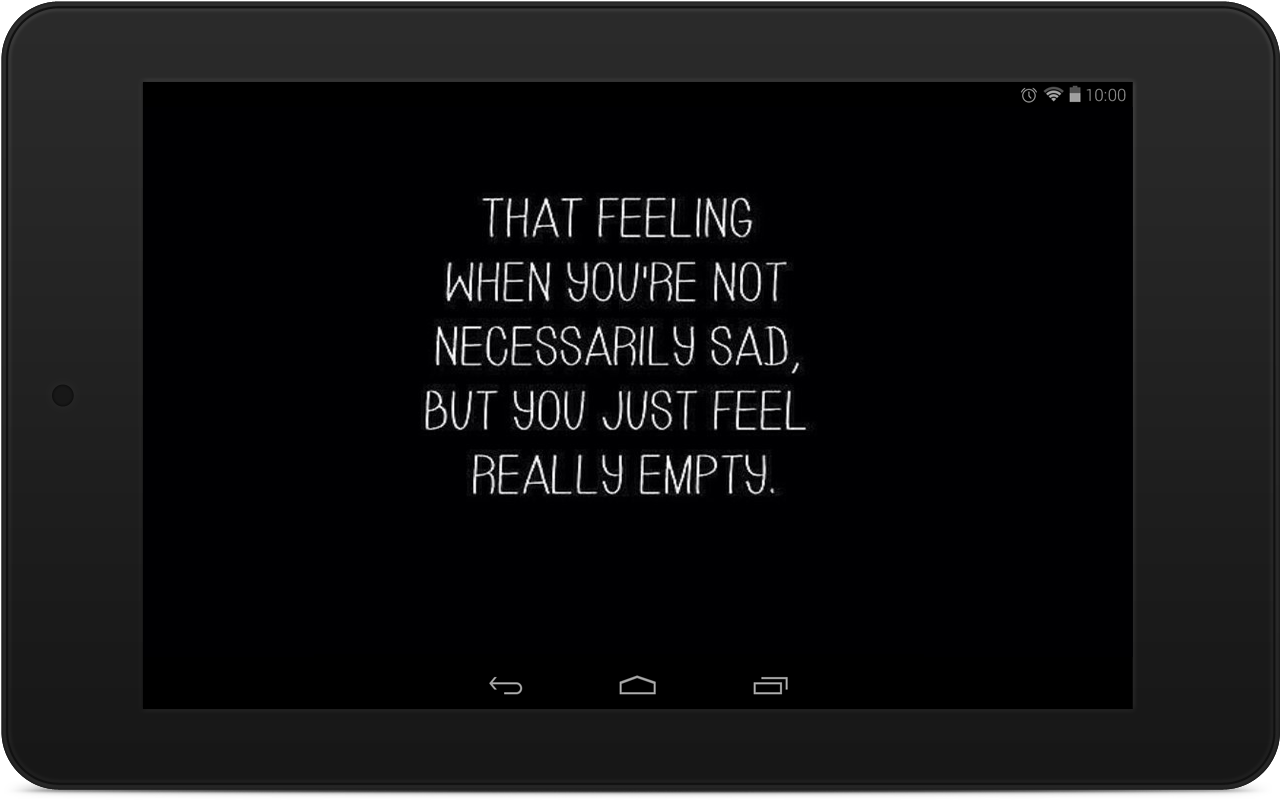 Quote Wallpaper Depression Quote Wallpapers  Android Apps On Google Play