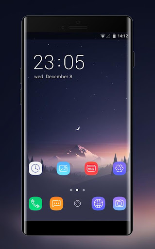 Theme For Abstract Dark Valley Oppo A37 Wallpaper Apk Download