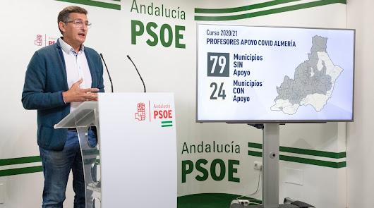 Sin profesores de refuerzo en 79 pueblos, según el PSOE