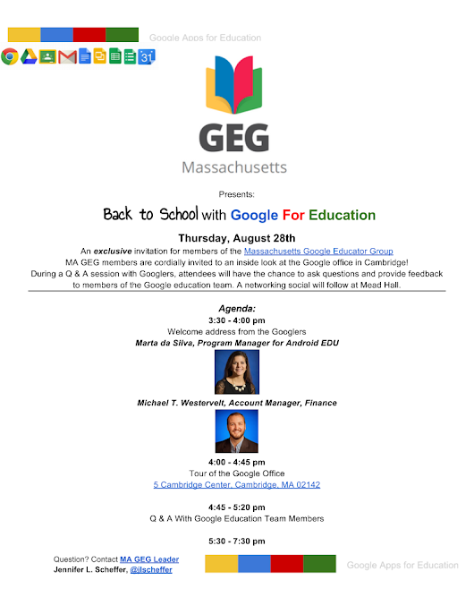 BACK TO SCHOOL WITH Google For Education