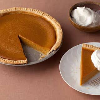Paula Deen's Apple Butter Pumpkin Pie.