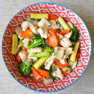 Super Tender Hibachi Chicken and Vegetables