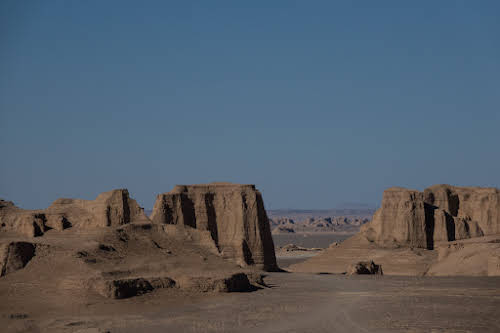 Things to Do in Iran Travel Guide Itinerary // Kaluts in the Lut Desert, Kerman