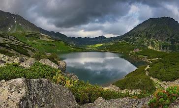 Photo: A Lengyel-Öt-tó völgyében 1956-ig juhokat legeltettek. Fotó: Marcin Kęsek