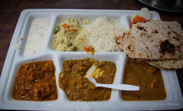 Photo: Adyar Ananda Bhavan North India version of Pure Veg Great Place to eat in Pondicherry  Southern India