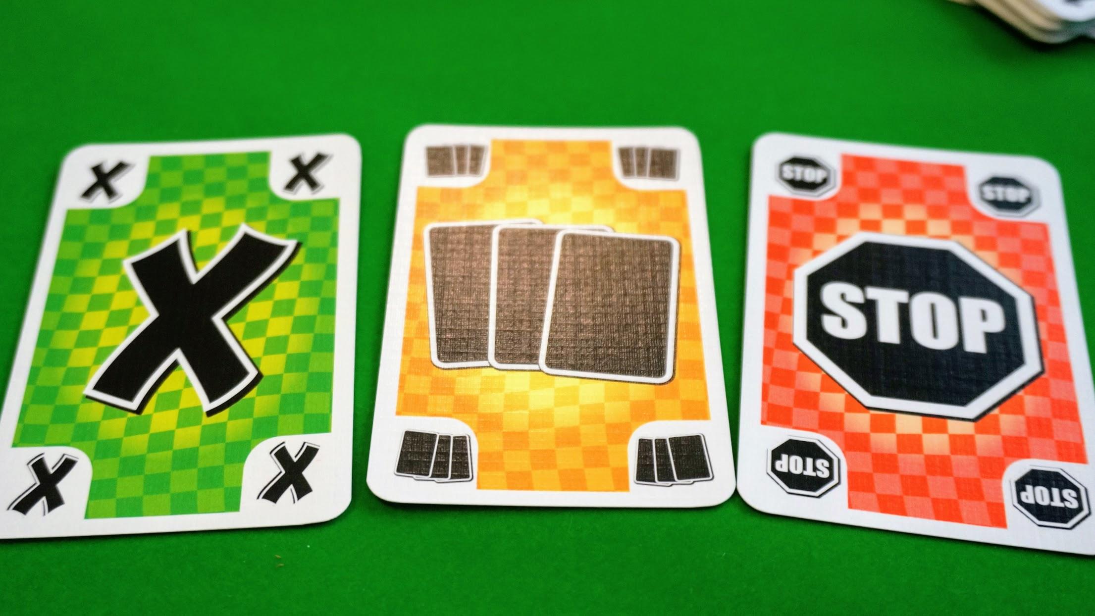 支離滅裂 (Krass Kariert):特殊カード