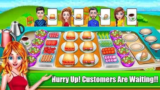 My Salad Shop Truck - Healthy Food Cooking Game Screenshot