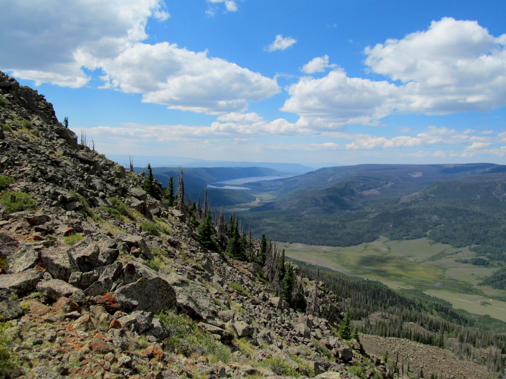 Photo: Fish Lake to the southwest