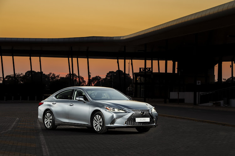 The new Lexus ES is far easier on the eye than its subdued predecessor. Picture: SUPPLIED