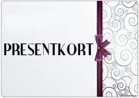 Presentkort Webshop