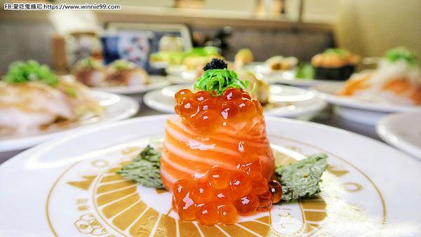 台中大遠百美食。東屋壽司,新幹線壽司,平板點餐 列車新鮮送餐 增添吃飯樂趣 ,握壽司 軍艦壽司 手卷 蒸蛋 湯品 甜點通通都有