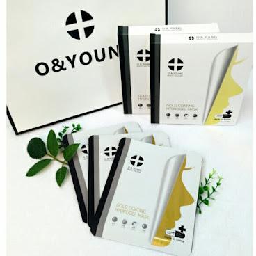 韓國代購 最新款熱賣O & YOUNG  金泊草本保濕修護面膜
