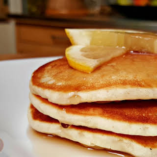 Lemon Yogurt Pancakes.