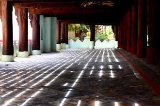 Photo: Year 2 Day 55 -  Underneath Shwe in Bin Kyaung #2