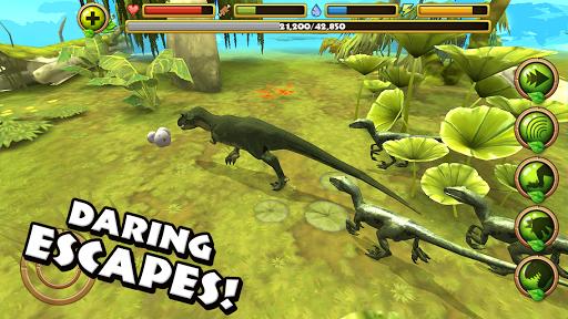 Jurassic life velociraptor simulator apk download