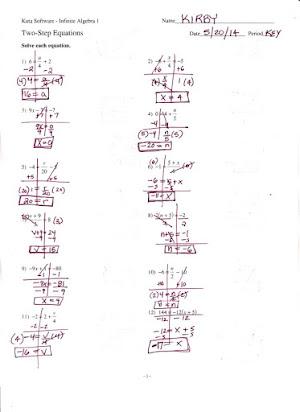Kuta Software Infinite Algebra 1 Properties Of Exponents Answers