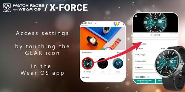 X-Forceウォッチフェイス