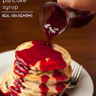 Raspberry Pancake Syrup