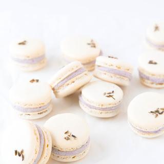 Lavender Coconut Macarons.