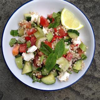 Buckwheat Greekesque Salad.