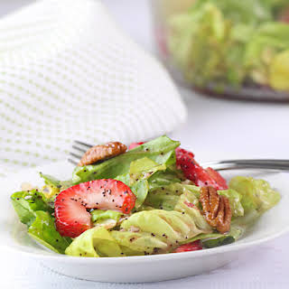 Butter Lettuce & Strawberry Salad.