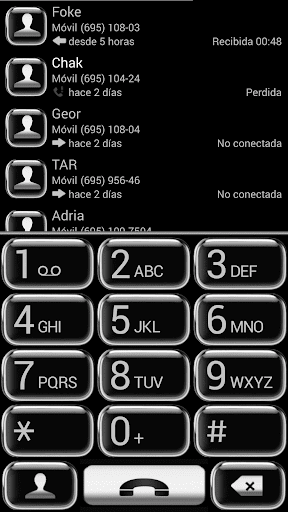 THEME SILVER GLASS EXDIALER