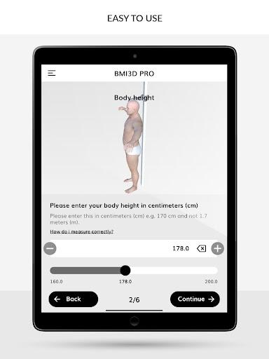 BMI 3D - Body Mass Index and body fat in 3D 5.6 Screenshots 5