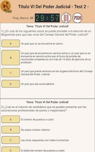 TestOpos Justicia- screenshot thumbnail
