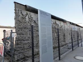 Photo: Baudenkmal Berliner Mauer
