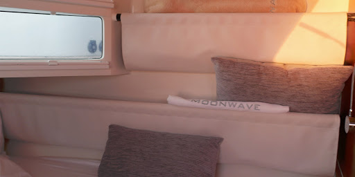 Gunboat 6003 Moonwave interior