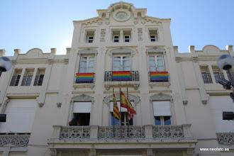 Photo: 28J Huesca. 28.06.2015 Arcoiris en el Casino