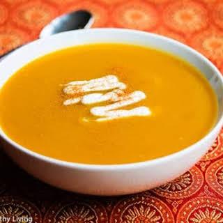 Sweet Spiced Butternut Squash Soup.