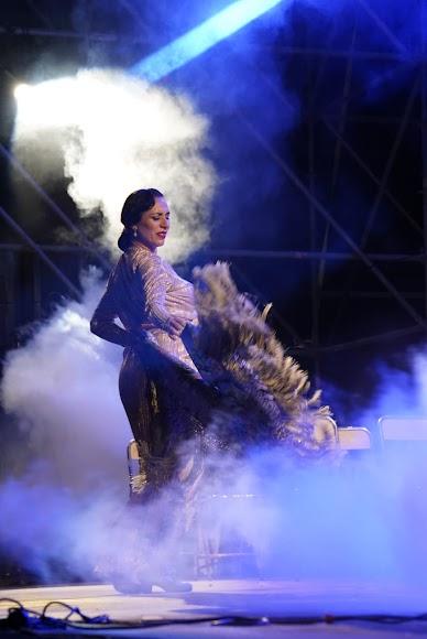 El arte de la bailaora Anabel Veloso.