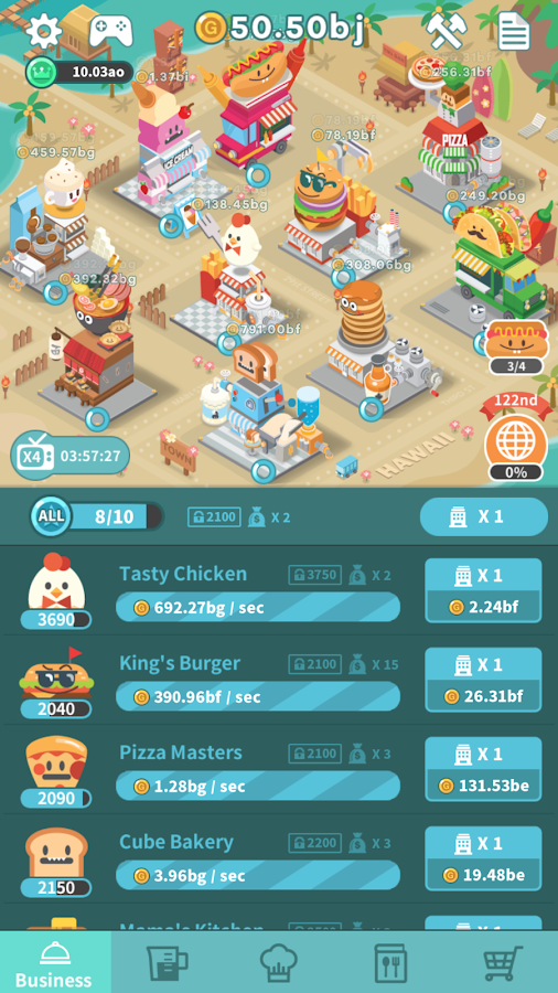 Foodpia Tycoon- screenshot