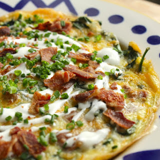 Spinach Bacon Frittata