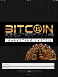 bitcoin strategy club system