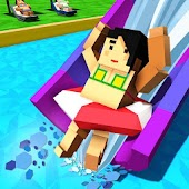Water Park Craft: Waterslide Uphill Rush Adventure