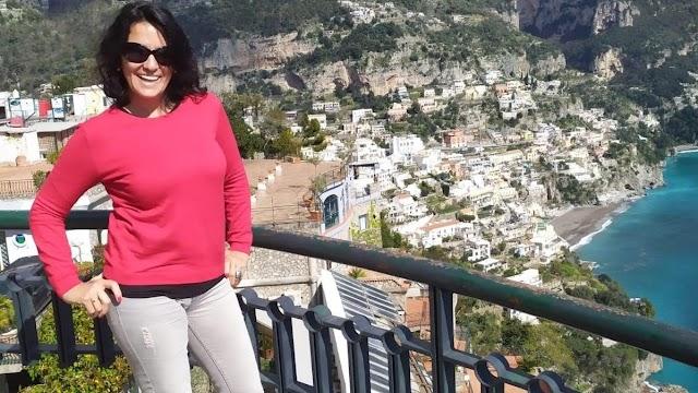 Andrea Acosta, en la localidad italiana de Sant Arsenio.