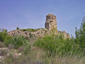 Photo: Rhodiapolis, Hellenistic Tower in the City Wall ..........Rhodiapolis, Hellenistische Toren in de stadswallen