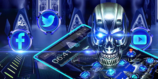 Download 3D Skull HD Theme on PC & Mac with AppKiwi APK Downloader