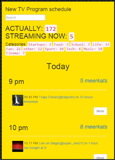 SagiraTV - ТВ Программа