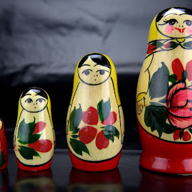 Matryoshka by Cal Brown - Artistic Objects Toys ( matryoshka, russian, dolls, nesting, toys, artistic object,  )