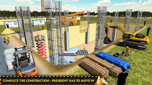 White House Building Construction Games City Build