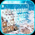 Ocean Rocks Keyboard Background icon